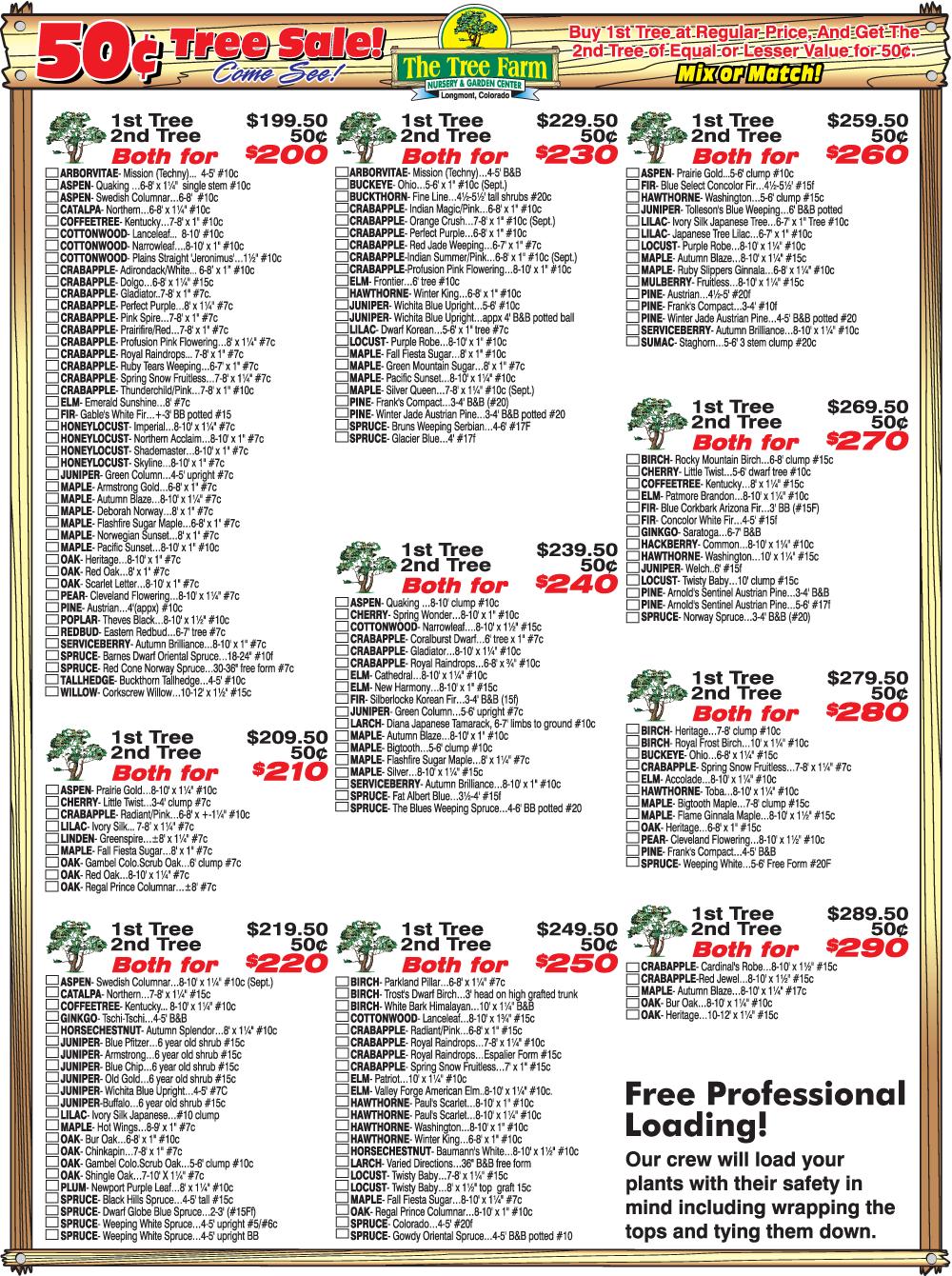 Sale List Page 2