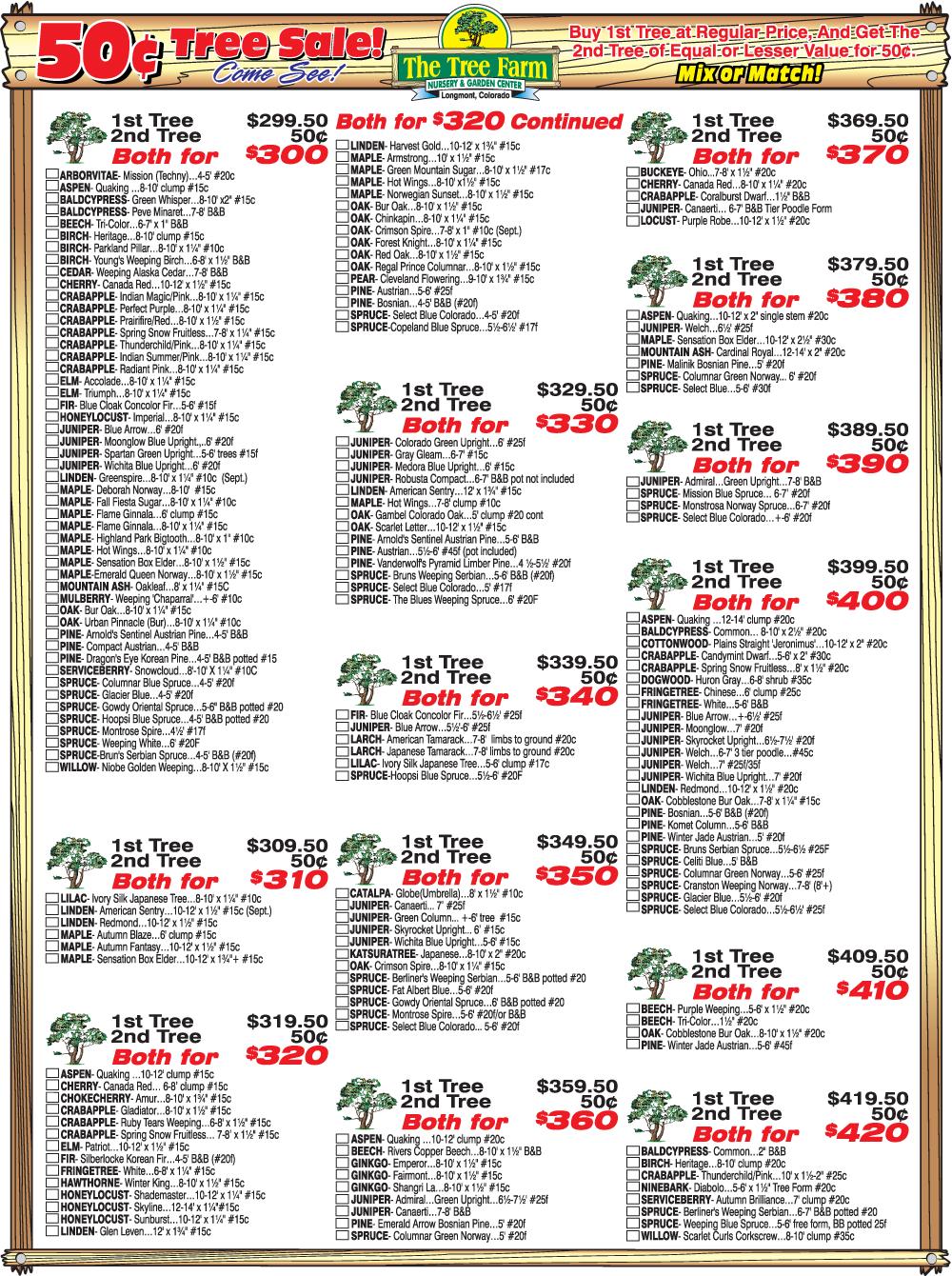 Sale List Page 3