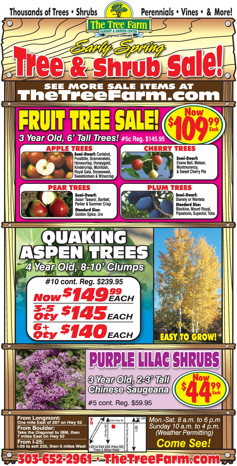 Early Spring Sale...Going On Now...COME SEE!